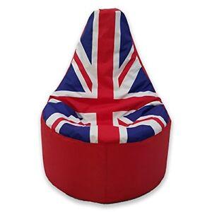 Super Details About 2018 World Cup Union Jack Bean Bag Gamer Beanbag Outdoor Gaming Garden Big Chair Machost Co Dining Chair Design Ideas Machostcouk