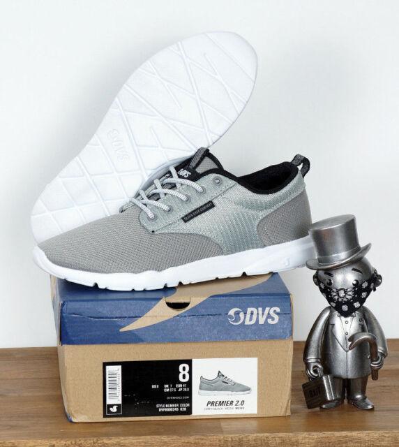 Dvs Skate Zapatos Shoes Premier 2.0 Grey Black Malla 8/41