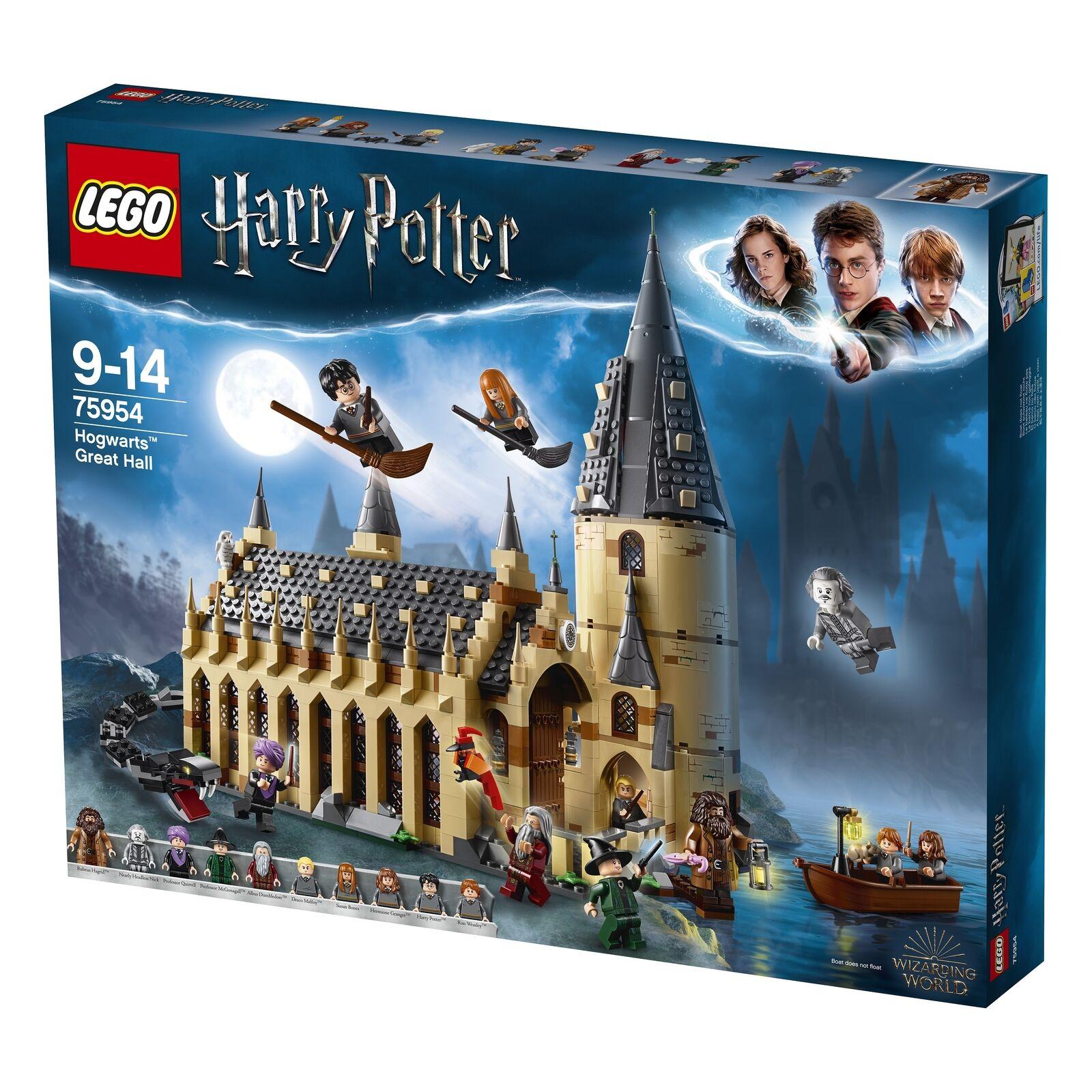 LEGO Harry Potter el gran salón de Hogwarts (75954) TV publicidad nuevo   original caja