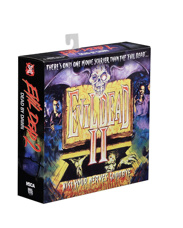 Evil Dead 2 Figura de Acción 30th Anniversary paquete de 2  Hero Ash Vs Evil Ed  NECA  Nuevo En Caja