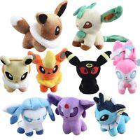 Pokemon Fairy Eevee Plush Toy Cuddly Stuffed Animal Soft Doll Gift