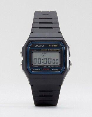 Hommes handwatch Montre bracelet minuterie Casio Digital  vy8lL