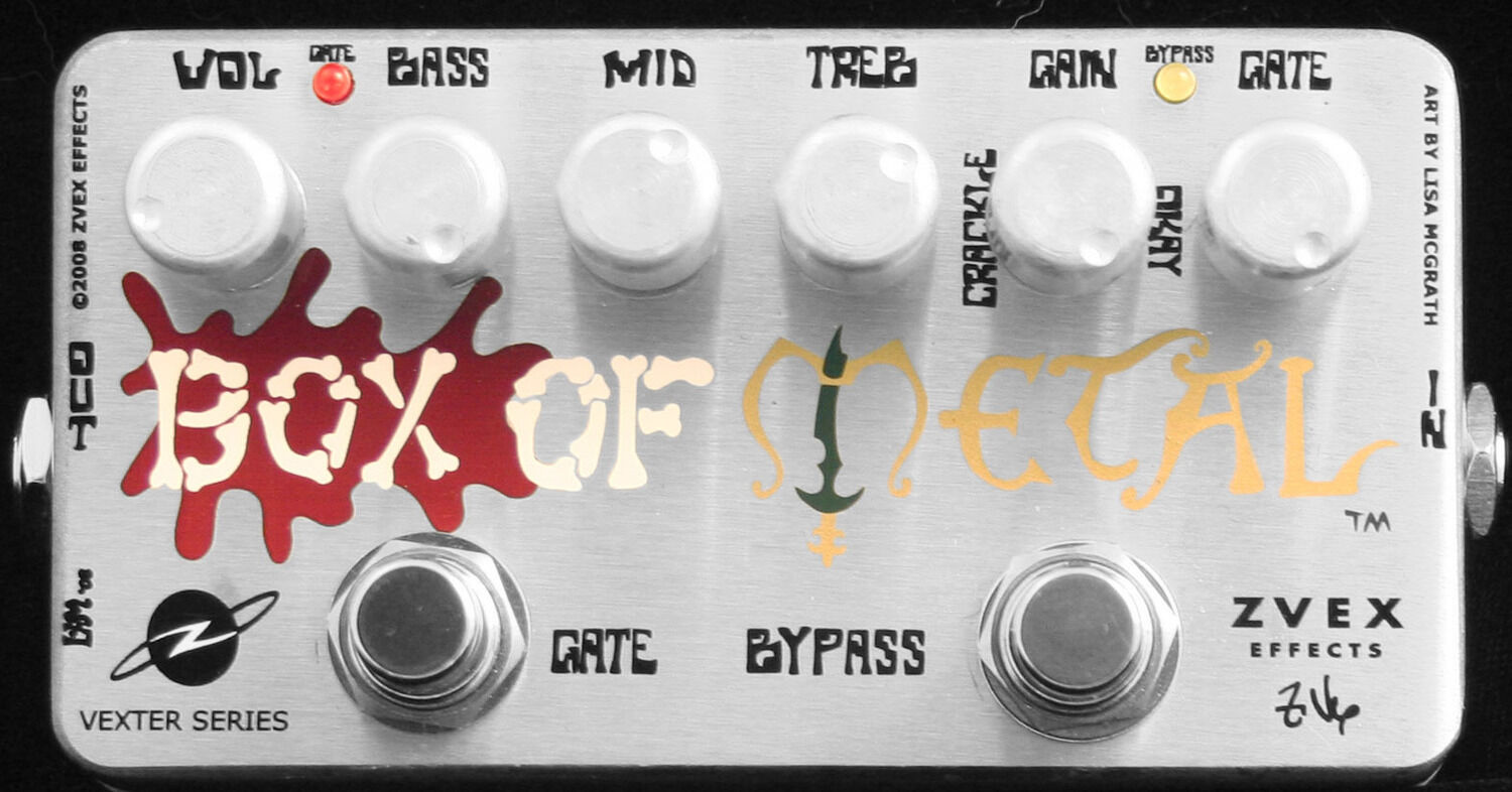 Z.VEX ZVex Effects Pedal, Vexter Box of Metal, Brand New