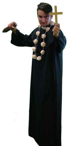 Halloween-Panto-Stage-Religious VAMPIRE SLAYER Men/'s Fancy Dress Costume SML-4XL