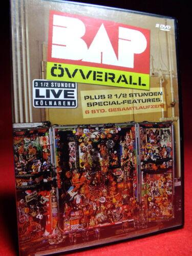1 von 1 - BAP  ÖVVERALL  Kölnarena  6 Std. Gesanmtspielzeit  2 DVD   TOPP *