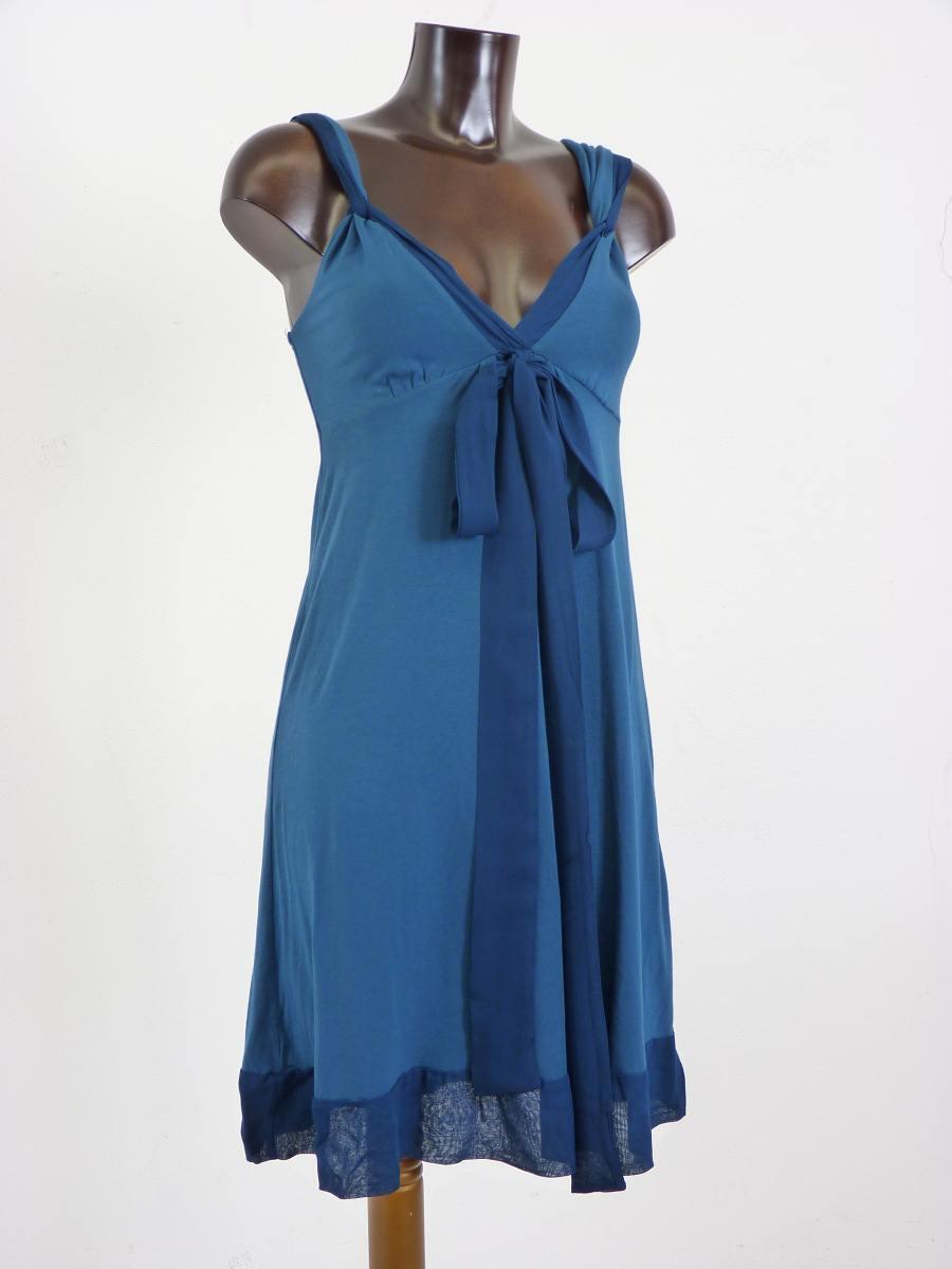 ELLA MOSS Kleid petrol blau Gr. S Neu