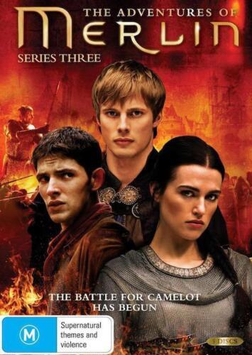 1 of 1 - THE ADVENTURES OF MERLIN Season 3 : NEW DVD