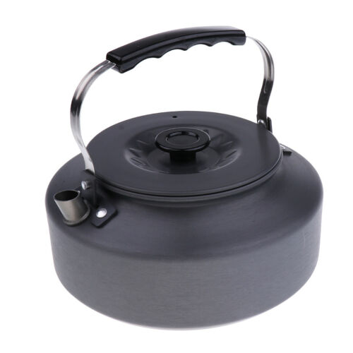 1600ml kampierender Tee Kaffeekanne Wasser kochender Kessel