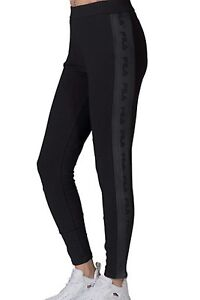 91e6b506b8ac Fila Sports Women s LIA TIGHT Leggings Black LW171YD8-001 b