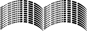 Adesivi-ruote-moto-strisce-cerchi-YAMAHA-TMAX-500-tmax-530-adesivi-NERO-CROMO