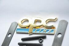 24K Gold Plated OPC Line Grill Front Car Badge Blue Vauxhall Astra Insignia