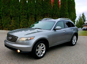 2006 INFINITI FX35 AWD FULLY LOADED ++ CERTIFIED ++