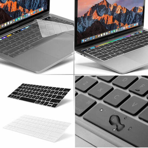 "Waterproof Silicone Laptop Keyboard Cover Macbook Pro//Retina 13/""15/"" Air 13/"""