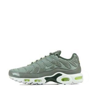 Nike-Air-Max-Plus-se-Tuned-TN-Scarpe-Da-Ginnastica-Uomo-Cargo-Khaki-Bianco-UK-9-5