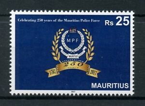 Mauritius-2017-MNH-Mauritius-Police-Force-MPF-250-Years-1v-Set-Stamps