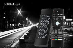 Details about MX3 Backlight 2 4G Wireless Fly Air Mouse Remote Control For  Android TV Box