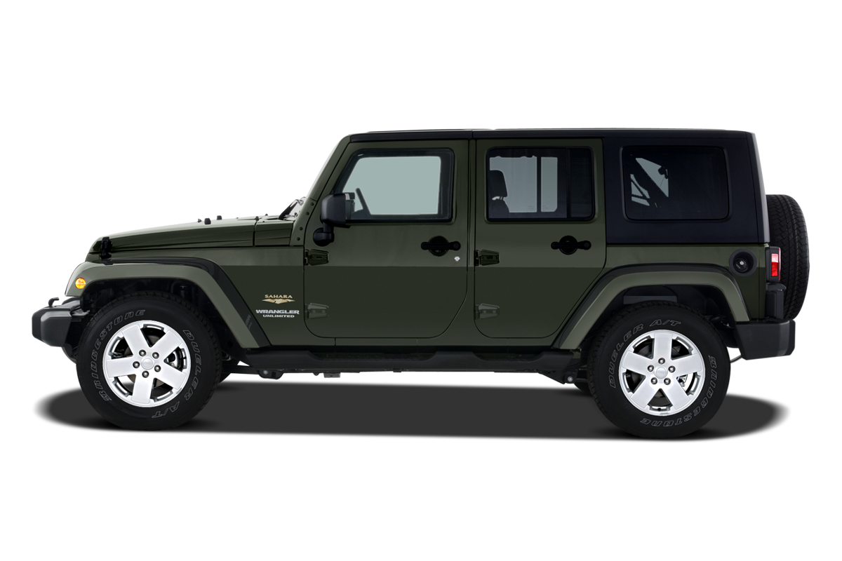 Jeep Wrangler side view
