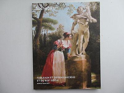 Tableaux et Dressins Anciens et du XIX Siecle. Sotheby's, Paris. 27 June, 2013