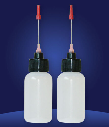 2-1 OZ bottles with stainless needle tip for Token Slot Machine Oil