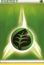 POKEMON - GRASS ENERGY CARD FROM THE PLASMA BLAST ELITE TRAINER BOX