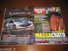 AUTOSPRINT 2008/37=GP F1 BELGIO=FELIPE MASSA=TEST FORD FIESTA=PUBBLICITA PEUGEOT