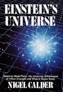 Einstein-039-s-Universe-Nigel-Calder-Good-Condition-Book