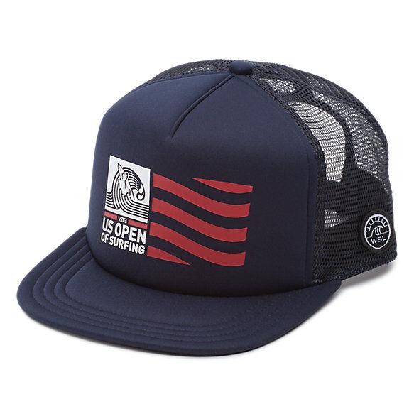 Buy VANS 2018 US Open of Surfing Hat (new) Snapback Trucker Cap Vuso Flag  Navy Blue online  91651ece9bb