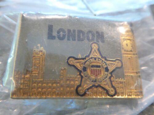 US SECRET SERVICE LONDON LAPEL PIN NIP!