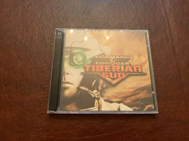 Command & Conquer: Tiberian Sun (PC Strategy Game, CD-Rom, 1999)