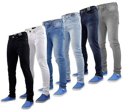 7 Series Mens Denim Jeans Designer Skinny Fit Stretch Straight Trousers Pants
