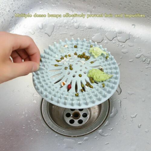 Bathroom Drain Hair Catcher Bath Stopper Sink Trap Strainer Filter Shower Cover