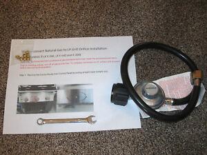 Nouveau propane LP Orifice Kit de conversion Weber Genesis E-320 côté Contrôle