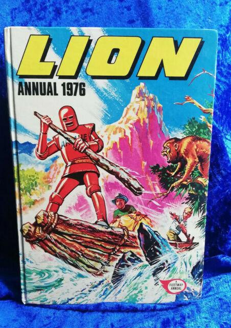 LION Annual 1976 - hardback children's annual - cartoon/nostalgia