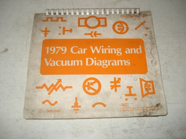 1979 Ford Wiring Diagrams Service Manual Mustang  U0026 More