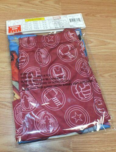 Marvel Multi Character Super Hero Youth 2 Piece Pajama Shorts Set Sealed in Bag