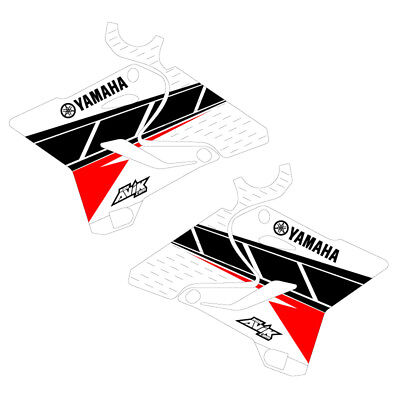 Cycra Powerflow Yamaha Retro Shroud Graphics YZ250F 14-18 YZ450F 14-17 Matte