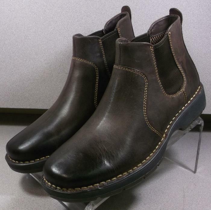 252060 MSBT 50 Chaussures Hommes Taille 9 m Marron Bottes en cuir Johnston & Murphy