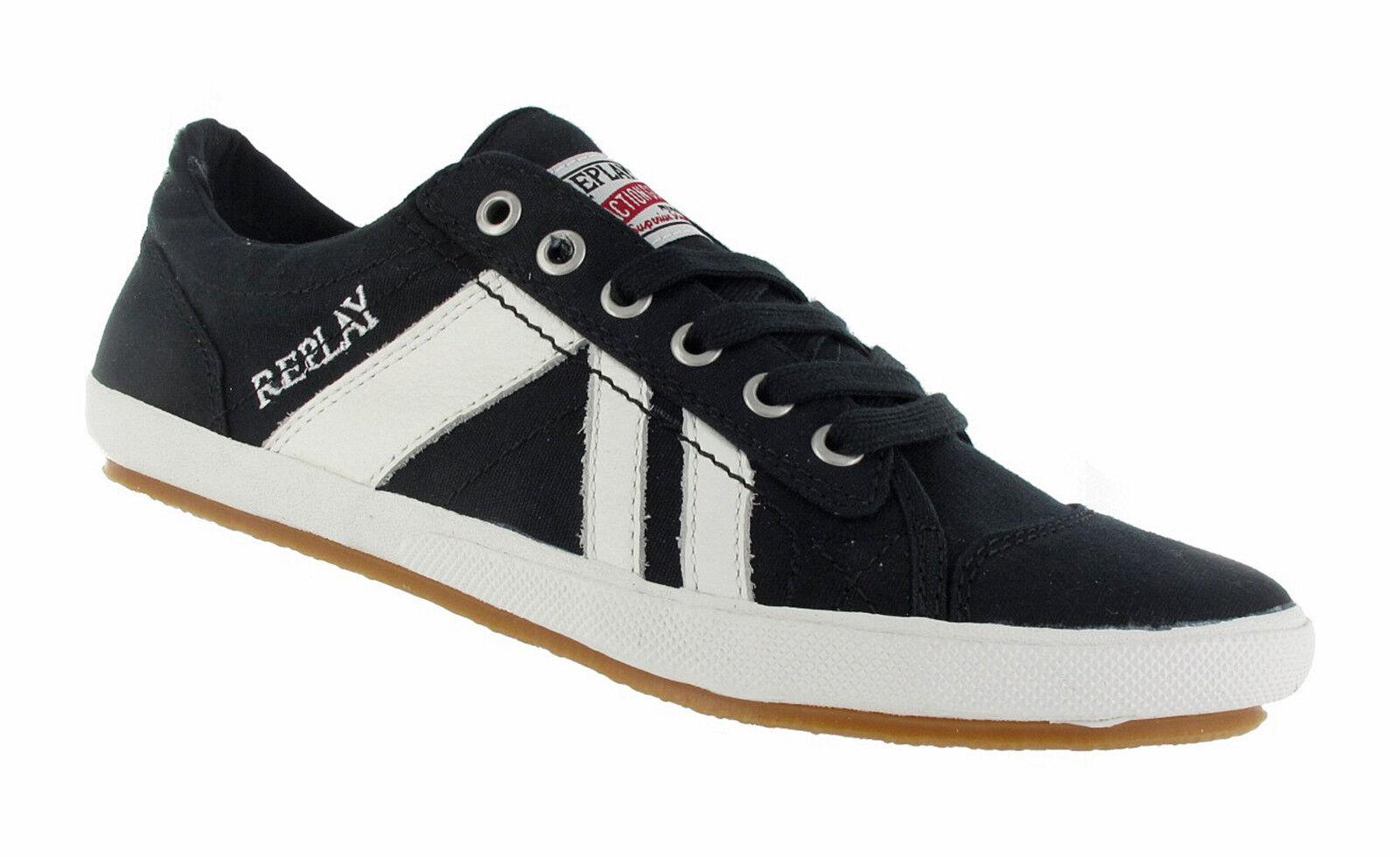 REPLAY Sneaker - Reichen C -  noir / Blanc  RV360001T