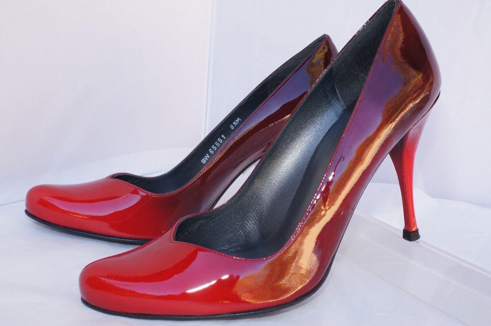 negozio online New Stuart Weitzman Donna  rosso rosso rosso scarpe Pump Dimensione 8.5 Dais Patent Leather Sale  negozio online