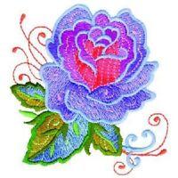 OESD Embroidery Machine Designs CD GRANDMA'S ROSES