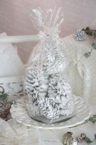Tannenzapfen Kienäppel Winter Adventsdeko Zapfen Shabby Landhaus Set