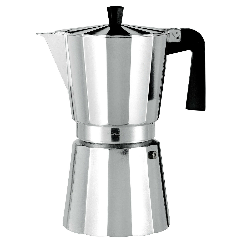 Cafetera Aluminio Oroley 12 Tazas Italiana Vitro | eBay