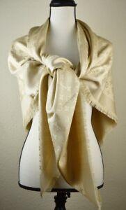 NEW-LV-DUNE-Monogram-Silk-Wool-Scarf-Shawl-100-Authentic-M71360-Louis-Vuitton