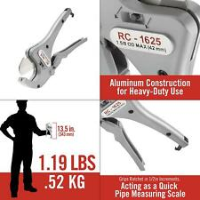 18 In To 1 58 In Rc 1625 Ratchet Action Plastic Pipe And Tubing Cutter