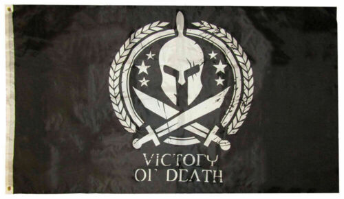 3x5 Molon Labe Come and Take It Spartan Battle Victory or Death Flag 3/'x5/'