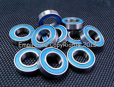 (25 Stk) 6800-2rs (10x19x5 Mm) Gummi Verpackt Präzision Wälzkörper (blau)