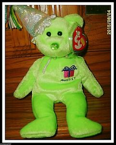 Image is loading Ty-AUGUST-Birthday-Beanie-Baby-NWMT-2002-Rare- 38bc0c3c36f1