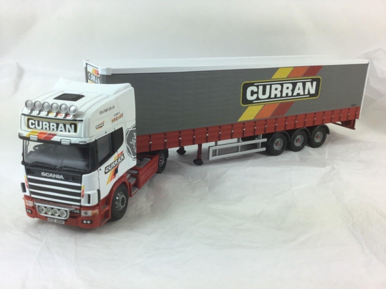 Corgi 1 50 scale CC12907 - Scania Topline Curtainside - D CURRAN & SONS LTD