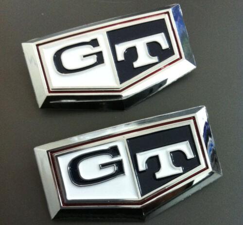 Datsun skyline 240K GT C110 side Emblems Badge 73 74 75 76 77 dark blue// white