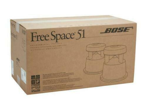 BOSE FREE SPACE 51 OUTDOOR/IN GROUND ENVIRONMENTAL SPEAKERS PAIR
